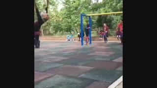 مرحبا بانوی ورزشکار ایرانی!!