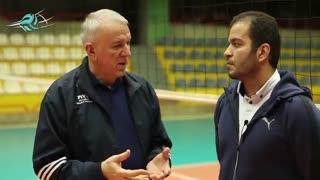 """سرگی الکسیف پس از اختتامیهی سمینار طراحی تمرین در والیبال پیشرفته: """"مربیان ایرانی از دانش خوبی برخوردارند."""""""