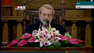 لاریجانی: افزایش حقوق باید به صورت پلکانی باشد