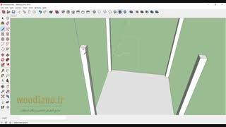 آموزش طراحی آلاچیق با اسکچاپ - قسمت 1