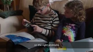 برنامهای که خواندن را به بچههای ناشنوا میآموزد