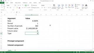 یادگیری توابع مالی در اکسل(محاسبه اصل و بهره ی هر وام پرداختی)