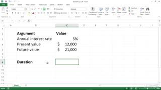 یادگیری توابع مالی در اکسل(محاسبه ی تعداد دوره های لازم برای رسیدن به یک قیمت مشخص)
