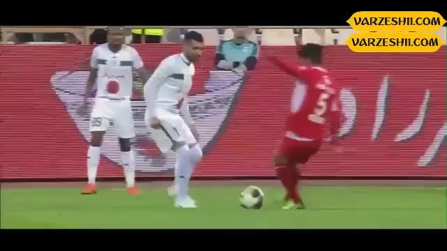 صحنه عجیب مسلمان در بازی روز گذشته