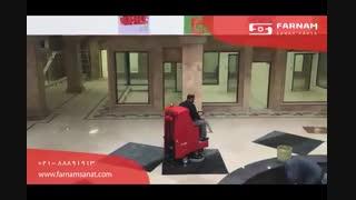 اسکرابر خودرویی - شستشوی اولیه سطوح