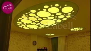 نمونه کار های اجرایی سقف لابل