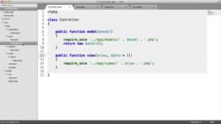 آموزش طراحی فریم ورک اختصاصی با PHP MVC - جلسه 8