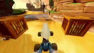 اولین تریلر بازی Crash Team Racing remaster