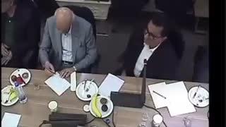 فیلم لو رفته از دوربین مدار بسته اطاق بازرگانی با حضور وزیر صنعت