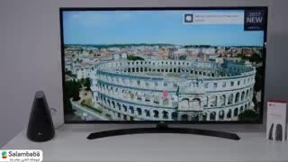 معرفی تلویزیون ال جی مدل UJ634
