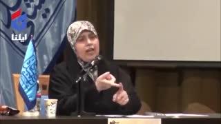 مناظره پوشش بانوان ایرانی پس از انقلاب-فرشته روح افزا و پروانه  سلحشوری