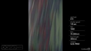 تکنیک های خلاقانه در عکاسی(حرکت عمدی دوربین)