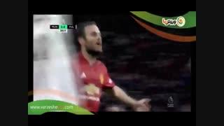 خلاصه بازی منچستر یونایتد 4 - فولام 1 (17-9-1397)
