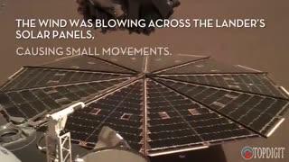برای اولین بار به صدای مریخ که توسط کاوشگر ناسا ضبط شده گوش دهید