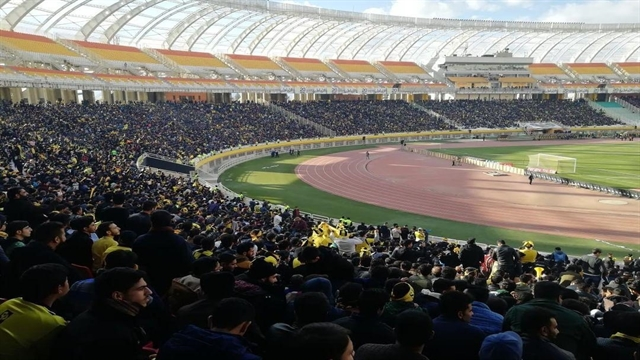 گزارش تصویری از حال و هوای ورزشگاه نقش جهان