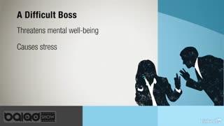 سر و کار داشتن با رئیس سختگیر(تاثیر)