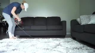 این ویدیو را ببینید و هر هفته همینطور منزل خود را نظافت کنید