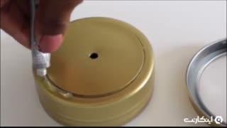 ترفندهای 119 ثانیه ای :آموزش ساخت چراغ خواب