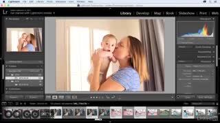 آموزش عکاسی از کودکان در خانه(کار با لایت روم)
