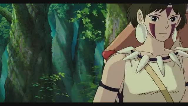 انیمیشن شاهزاده مونونوکه با دوبله فارسی