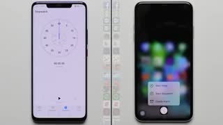 مقایسه سرعت دو گوشی آیفون XS Max و Mate 20 Pro