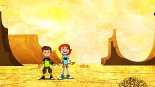 انیمیشن بن تن ریبوت و روز وحشت با دوبله فارسی