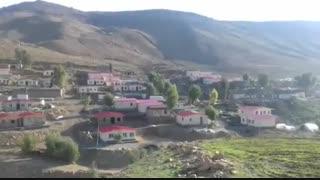 گزارش علی دایی از ساخت منازل زلزله زدگان