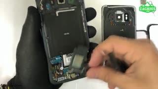 آموزش تعویض فلت شارژ موبایل S8 Active سامسونگ