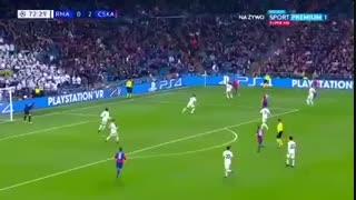 گل سوم زسکا مسکو به رئال مادرید توسط سیگوردسون