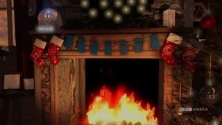 Festive Thirteenth Doctor Yule Log | Doctor Who | BBC America