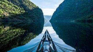 تجربه قایق سواری در طبیعت بکر نروژ