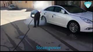 کارواش بخار سیار در تهران  کارواش سیار راه اندازی کارواش بخار سیار کارواش نانو بخار سیار