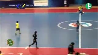 خلاصه فوتسال زنان نامی نو اصفهان-  ملی حفاری اهواز