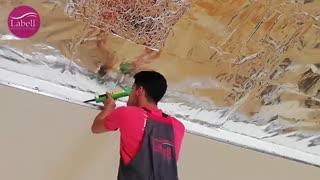 ⚜️نصب سقف لابل در هتل بوتانیک گرگان