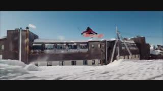 اسکی رو پشت بام در فرانسه
