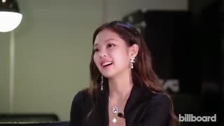 Jennie of BLACKPINK مصاحبه جنی بلک پینک با بیلبورد برای آهنگ سولو