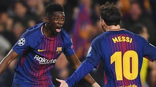 گلهای بارسلونا در لیگ قهرمانان اروپا 2018/2019
