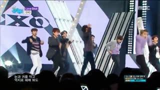 EXO_ Love Shot _HD_ Show Music core  20181215