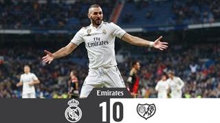 خلاصه بازی رئال مادرید 1_0 رایو وایکانو (هفتۀ شانزدهم لالیگا اسپانیا)
