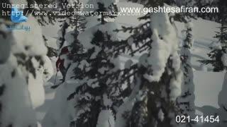 ایالت بریتیش کلمبیا در برف و سرما