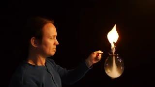 ایجاد Fire Vortex درون حباب