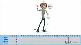 آموزش انیمیشن سازی کاراکتر(زمانبندی بلوک ها)