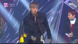 اجرای آهنگ LOVE SHOT  از اکسو درSBS Inkigayo