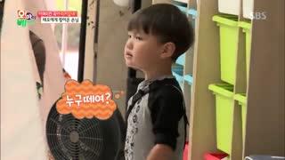 قسمت اول برنامه Oh my baby با حضور کای از اکسو(exo)