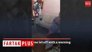 اقدام گستاخانه نوجوان شرور با مادرش!