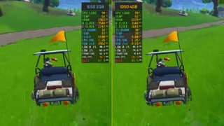 مقایسه گرافیک 7 بازی در گرافیک GTX 1050 و GTX 1050Ti