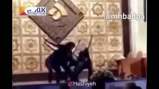 رقص دختران دانشگاه الزهرا در حضور مردان