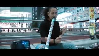 اجرای موسیقی داب استپ با کمک سطل و لوله