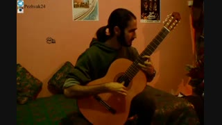 grand tremolo- اثر آگوستین باریوس- گیتار: مازیار جهانشیری