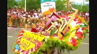 فستیوال رژه گلها در مدالین کلمبیا